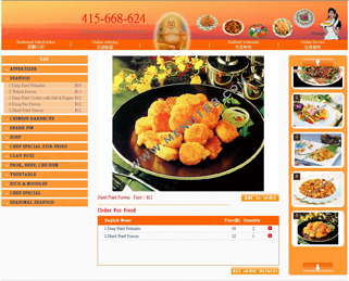 Webpage Samples,menu design for restaurant and provide Webpage ...